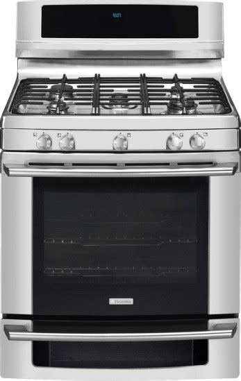 Kompor Gas Electrolux Etg 65 ew30gf65gs electrolux 30 quot gas range wave touch controls stainless steel