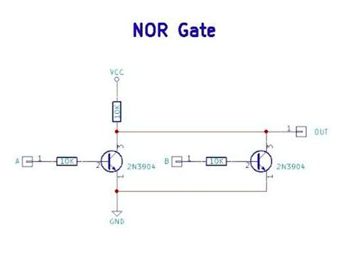 mosfet without gate resistor mosfet and resistor nor gate 28 images logic nor gate tutorial with logic nor gate table