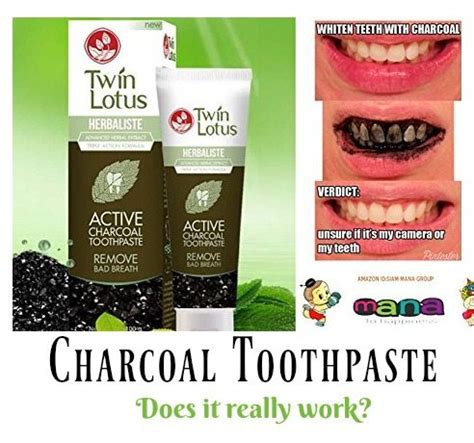 charcoal toothpaste  whiten  teeth product