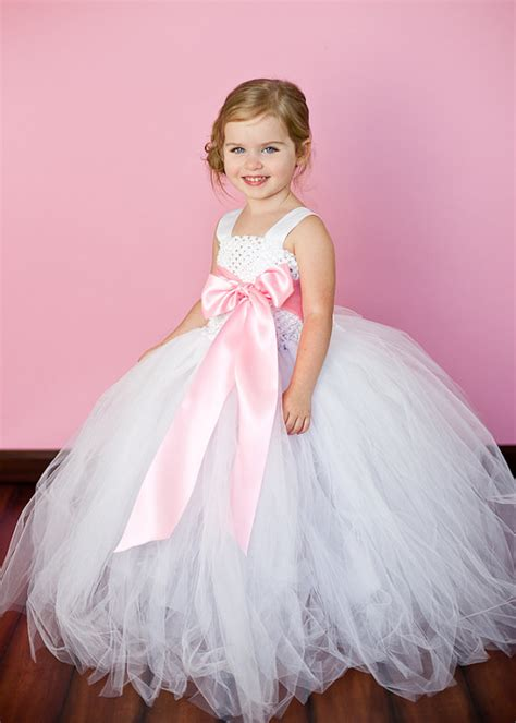 tutu dress white and pink flower tutu dresses tu tu dresses