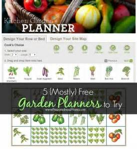 Gardeners Supply Kitchen Garden Planner 5 Mostly Free Vegetable Garden Planners
