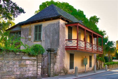 St Augustine House by Fernandez Llambias House In Historic Downtown St Augustine Florida Nick