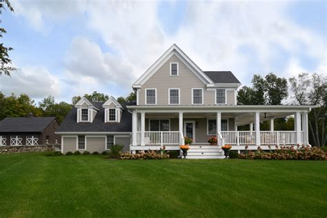 colonial farmhouse with wrap around porch colonial farmhouse
