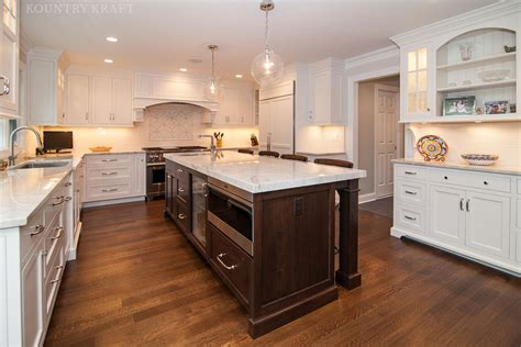 Custom Kitchen Cabinets Design by Custom Painted White Dove Cabinets In New Jersey