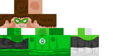 minecraft pe skin template green lantern hd скин 512x256 для minecraft