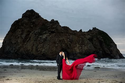 Pfeiffer Beach Big Sur Couples Session   Christina & Jason