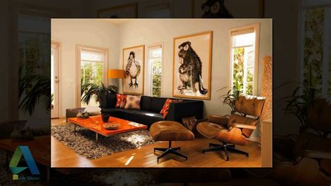 orange and brown home decor daily decor brown and orange living room youtube nurani