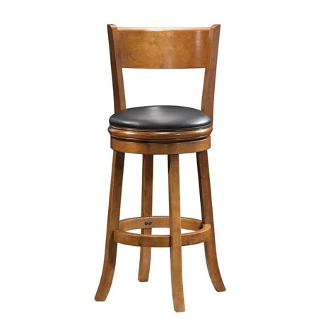Boraam Counter Stool by Shop Boraam Industries Palmetto Fruitwood Counter Stool At