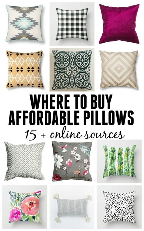 Where To Buy Pillows by Where To Buy Affordable Pillows 15 Resources