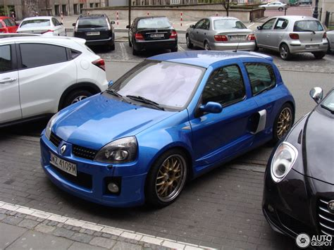 clio renault v6 renault clio v6 phase ii 22 april 2017 autogespot