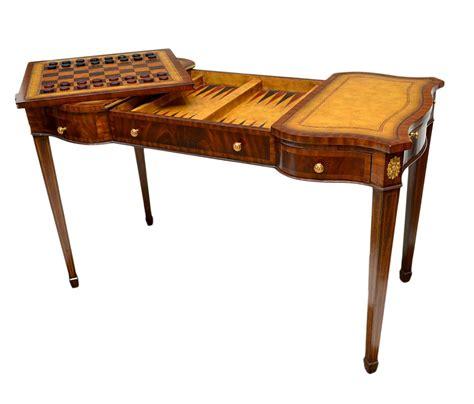 maitland smith chess table maitland smith burled walnut table spectacular