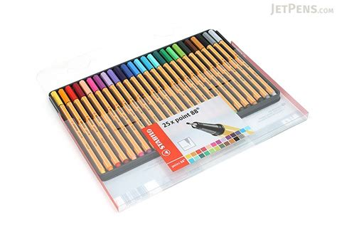 Zebra Penciltic Fineliner 0 4 stabilo point 88 fineliner marker pen 0 4 mm 25 color