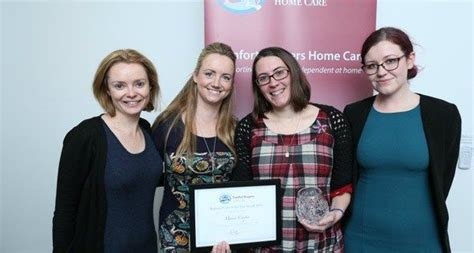 comfort keepers galway the story behind a winning carer of the year comfort