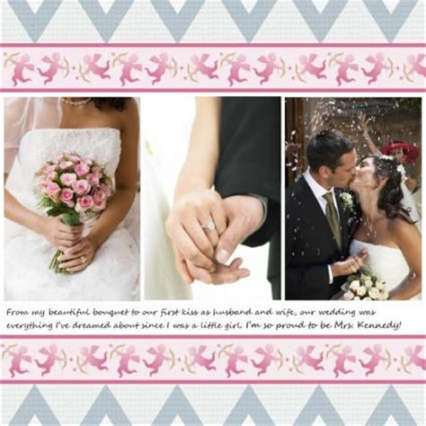 Wedding Album Scrapbook Ideas by Wedding Scrapbook Ideas Lovetoknow