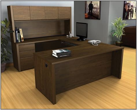 U Shaped Desk With Hutch Office Depot Download Page Home Office Depot Desk With Hutch