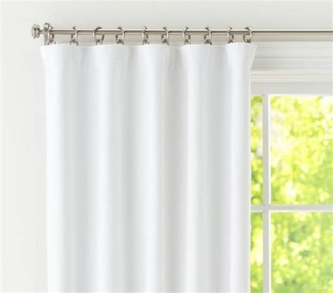 pottery barn sailcloth curtains secrets to inexpensive but good drapery by llbean