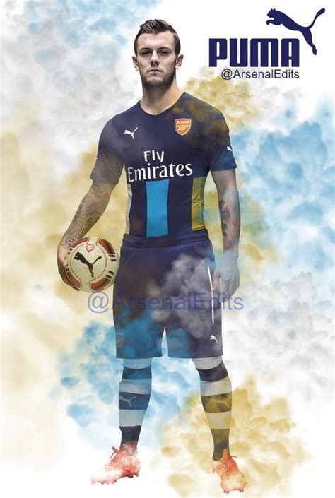 Arsenal Home 1516 image wilshere in leaked picture of new arsenal kit