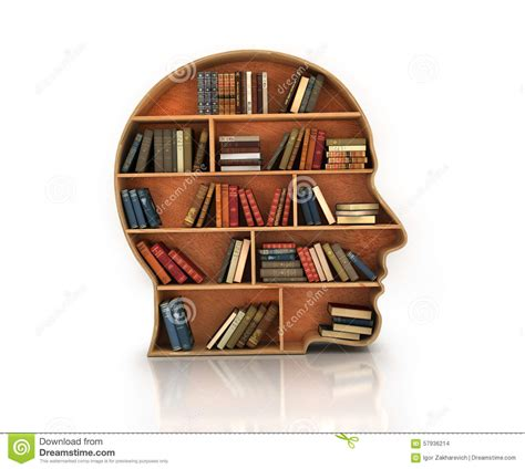 wood bookshelf in the shape of human and books with