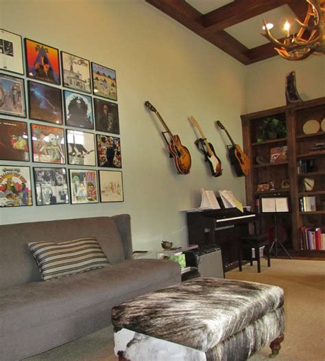 music room design ideas man cave contemporary home office austin by alison