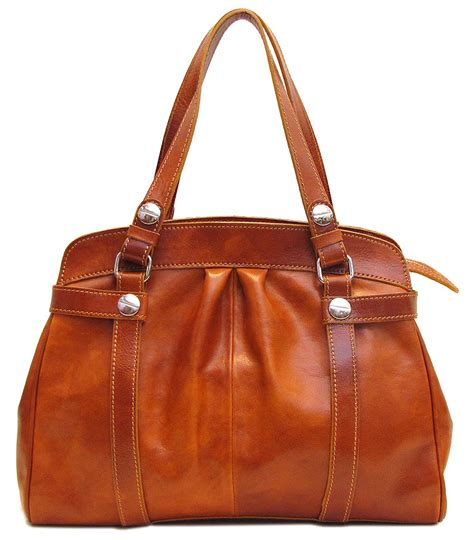 Italian Handmade Bags - leather shoulder bag fenzo italian bags