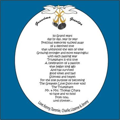 50th wedding anniversary poems for my 50th wedding anniversary poems 50th anniversary poem anniversary poems golden wedding