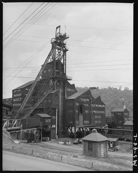 Greene County Pa Records File Tipple Of Mine Buckeye Coal Company Nemacolin Mine Nemacolin Greene County