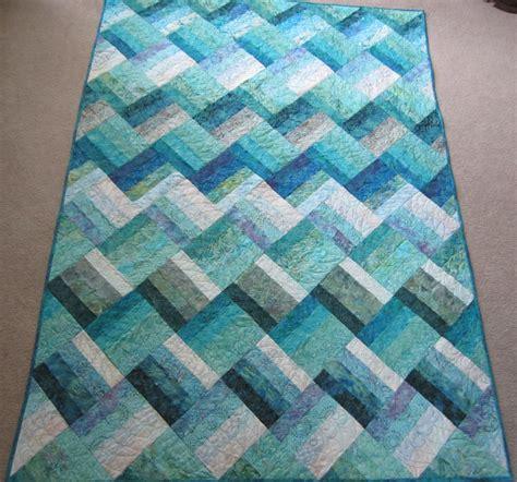 rail fence quilt pattern queen size pdf pattern ocean rail fence waves twin and queen sized quilt
