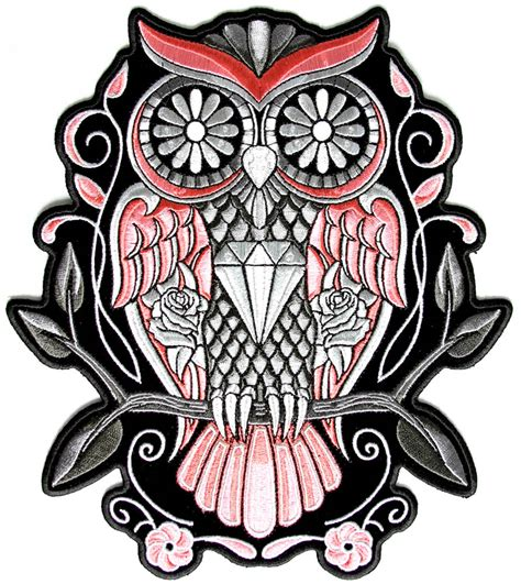 sugar owl tattoo design images for gt owl and sugar skull tattoo designs
