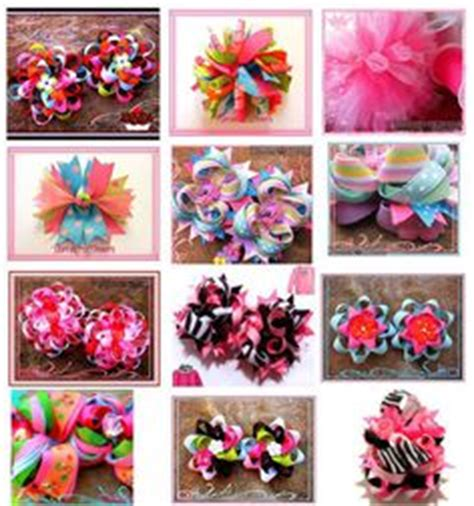 Different Type Of Hair Bows by 1000 Images About The Top Bows On