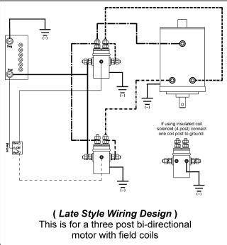 where to find ramsey bidirectional winch motor wiring
