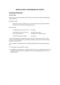 6 1 month notice period basic appication letter