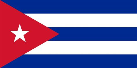 cuba flag coloring country flags