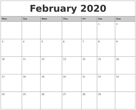printable calendars  monthly qualads