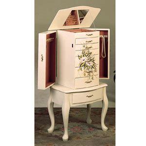 off white jewelry armoire jewelry armoire jewelry armoire in off white 4022 co elitedecore com
