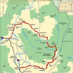 hells oregon map memorial day weekend route hells scenic byway flickr