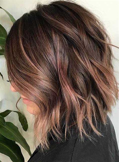 hairstyles and colors for winter 2017 41 best fall winter lob hair color styles 2017 2018 lob