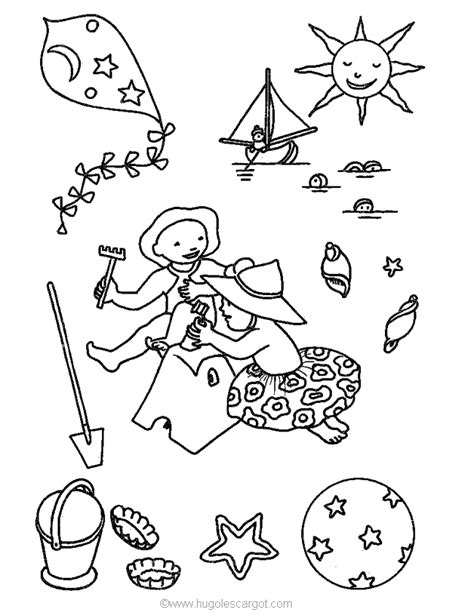summer holiday coloring pages coloring page summer holiday coloring pages 38