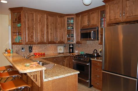 beautiful maple kitchen with granite counter tops yelp