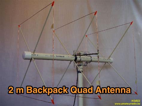 2 meter backpack antenna