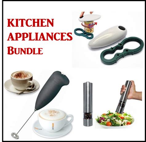 bundle kitchen appliances 3 in 1 kitchen appliance bundle