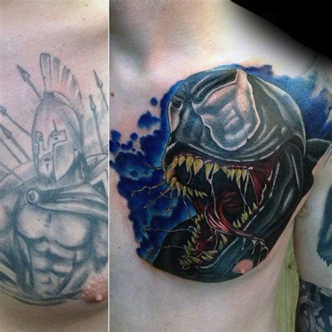 tattoos cover ups for mens 50 chest cover up tattoos for design ideas