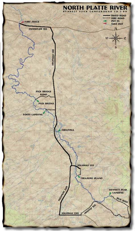platte river map www pixshark canoewest the platte river map and research