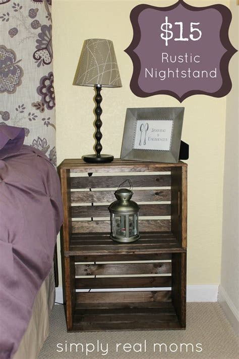 simply brilliant cheap diy nightstand ideas