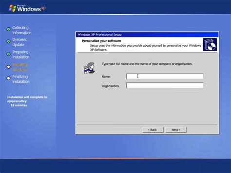 installing xp windows 10 windows xp step by step install youtube