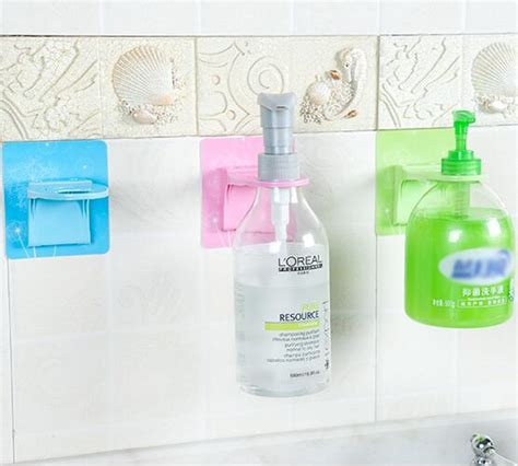 Magic Soap Dispenser Murah magic sticker creative soap dispenser sanitizer holder for bathroom shoo shelves home