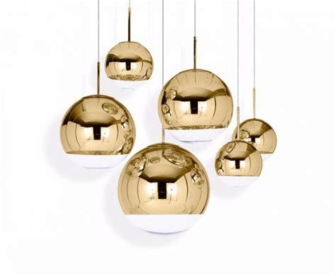 mirror pendant light tom dixon mirror pendant light mirror gold 50