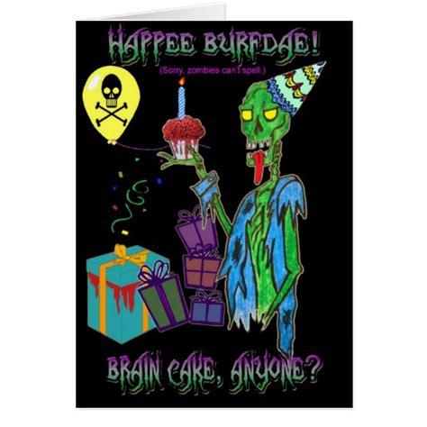 printable zombie birthday cards zombie cards zombie card templates invitations photo