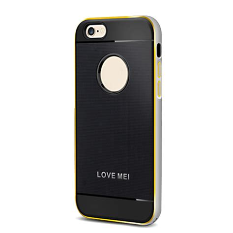 Silikon Ultrathin Iphone 6g 4 7 Inch lovemei silion metal frame aegis cover for iphone 6 4