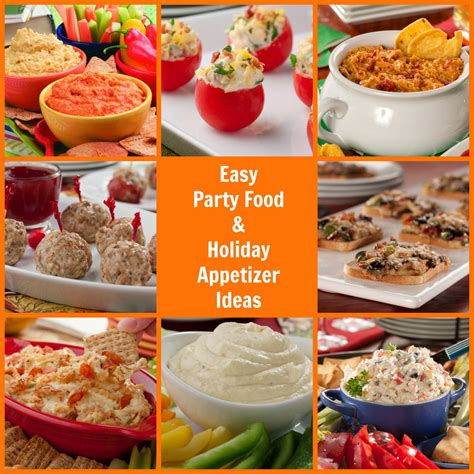 16 easy party food and holiday appetizer ideas mrfood com