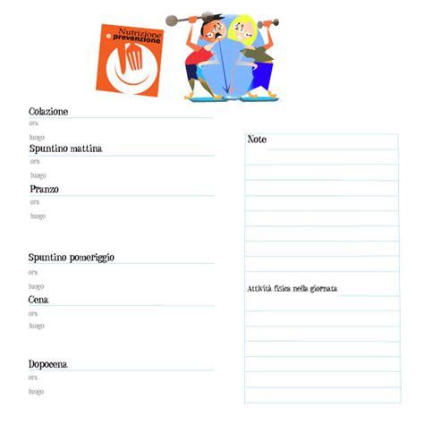 schema diario alimentare diario alimentare pdf dottoressa tiziana stallone